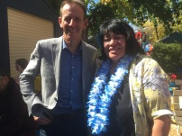 Robby and Shane Rattenbury MLA